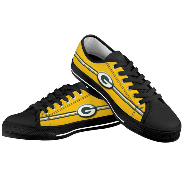 Green Bay Packers Low Top Shoes - diNeiLa
