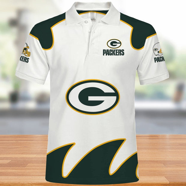 Green Bay Packers Polo Shirt - diNeiLa