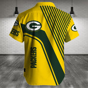 Green Bay Packers Shirt Slim Fit Body - diNeiLa