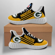 Green Bay Packers Sneakers Running Shoes For Men & Women - diNeiLa