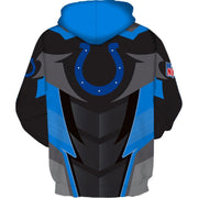Hot Indianapolis Colts 3D Printed Hooded Pocket Pullover Hoodie - diNeiLa