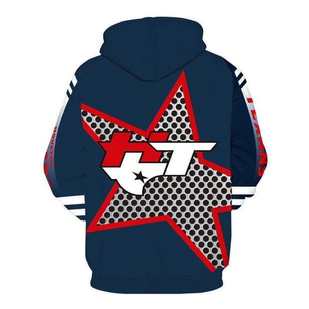 Houston Texans 3D Printed Hooded Sweater - diNeiLa