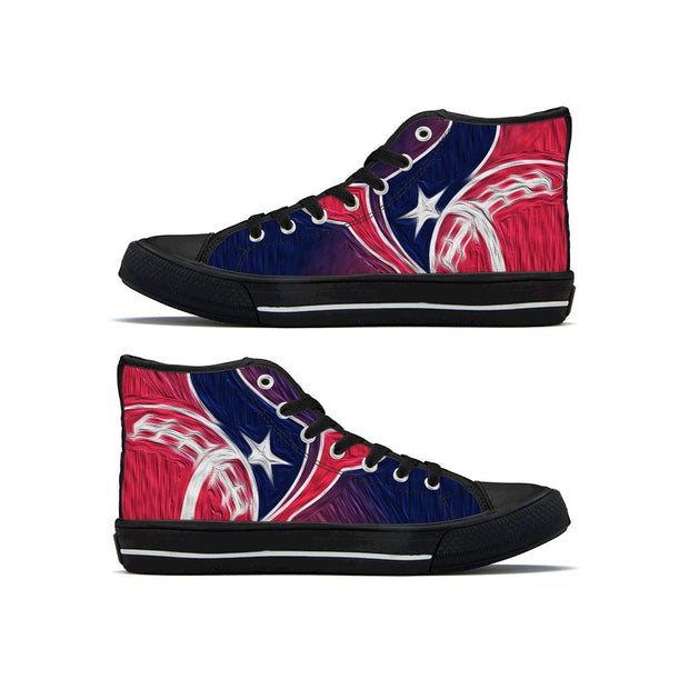 Houston Texans High Top Shoes For Men Women - diNeiLa