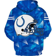 Indianapolis Colts 3D Printed Hooded Pocket Pullover Hoodie - diNeiLa