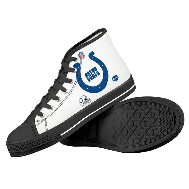 Indianapolis Colts High Top Shoes - diNeiLa