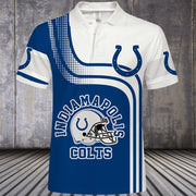 Indianapolis Colts Polo Shirt - diNeiLa