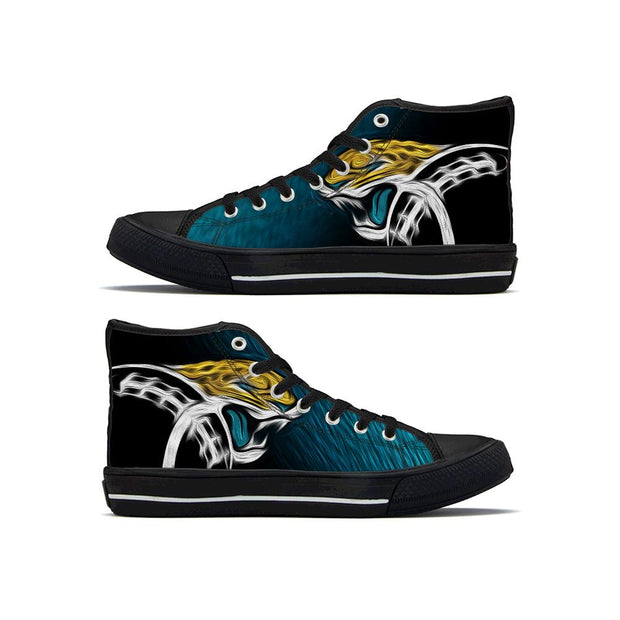 Jacksonville Jaguars High Top Shoes For Men Women - diNeiLa