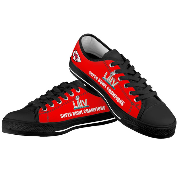 KC Kansas City Chiefs Low Top Shoes For Men Women - diNeiLa