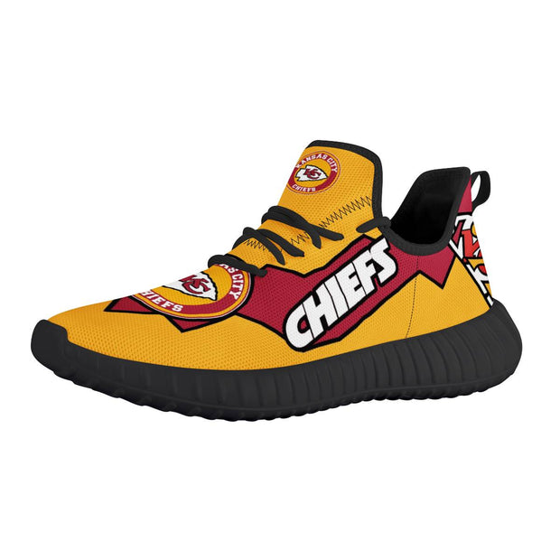 KC Kansas City Chiefs Running Shoes - diNeiLa