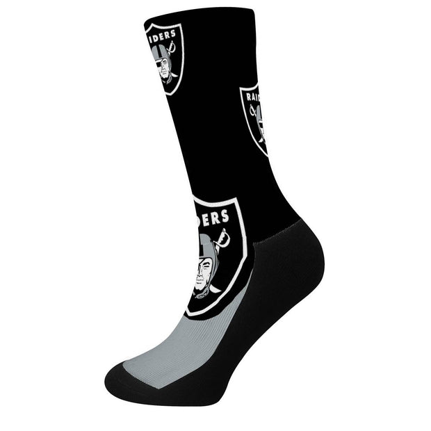 Las Vegas Raiders For Bare Feet Crew Socks - diNeiLa