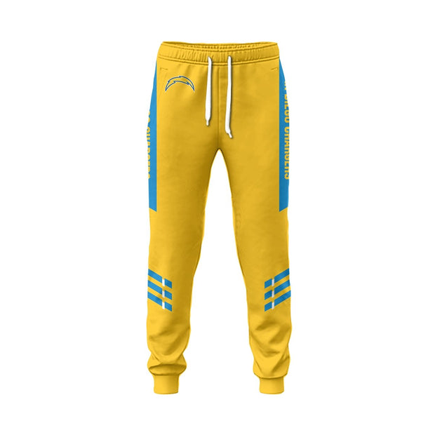 Los Angeles Chargers 3D Printed Sweatpants - diNeiLa