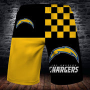 Los Angeles Chargers Summer Beach Shorts - diNeiLa