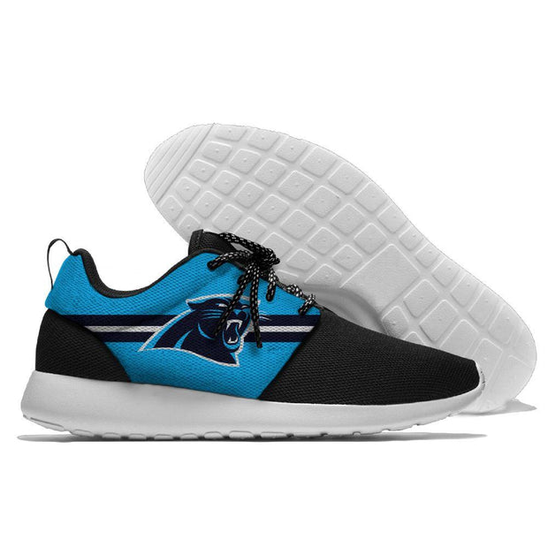 Men and women NFL Carolina Panthers Roshe style Lightweight Running shoes - diNeiLa