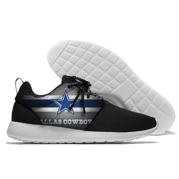 Men and women NFL Dallas Cowboys Roshe style Lightweight Running shoes - diNeiLa