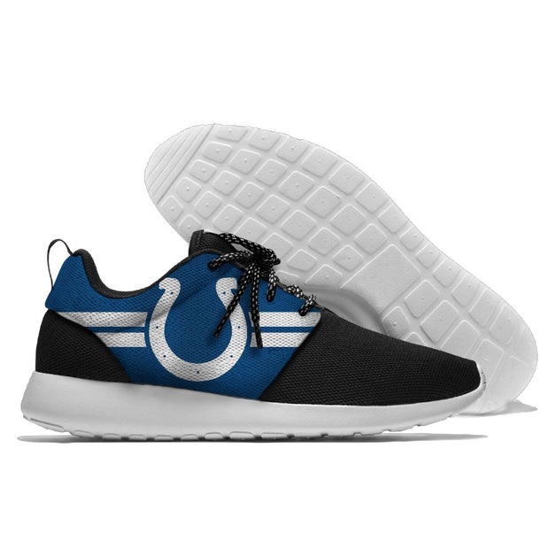 Men and women NFL Indianapolis Colts Roshe style Lightweight Running shoes - diNeiLa