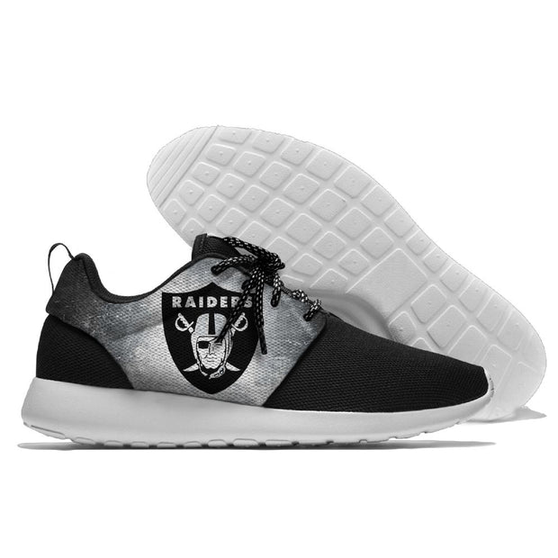 Men and women NFL Oakland Raiders Roshe style Lightweight Running shoes - diNeiLa