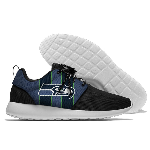 Men and women NFL Seattle Seahawks Roshe style Lightweight Running shoes - diNeiLa