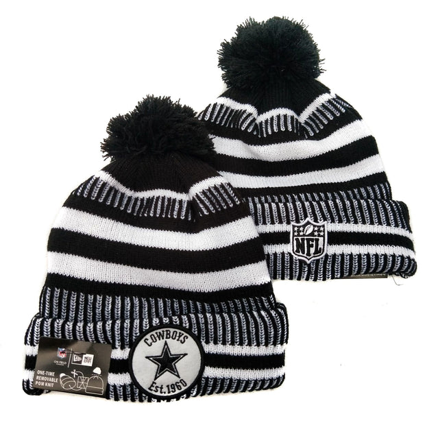 Men and women NFL wool hat Dallas Cowboys sports warm knitted hat - diNeiLa
