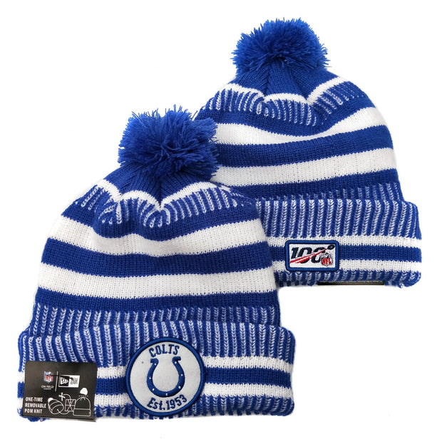 Men and women NFL wool hat Indianapolis Colts sports warm knitted hat - diNeiLa