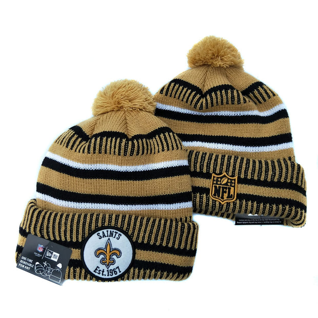 Men and women NFL wool hat New Orleans Saints sports warm knitted hat - diNeiLa