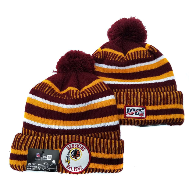 Men and women NFL wool hat Washington Redskins sports warm knitted hat - diNeiLa