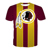 Men/Women NFL Washington Redskins Logo T-shirt - diNeiLa
