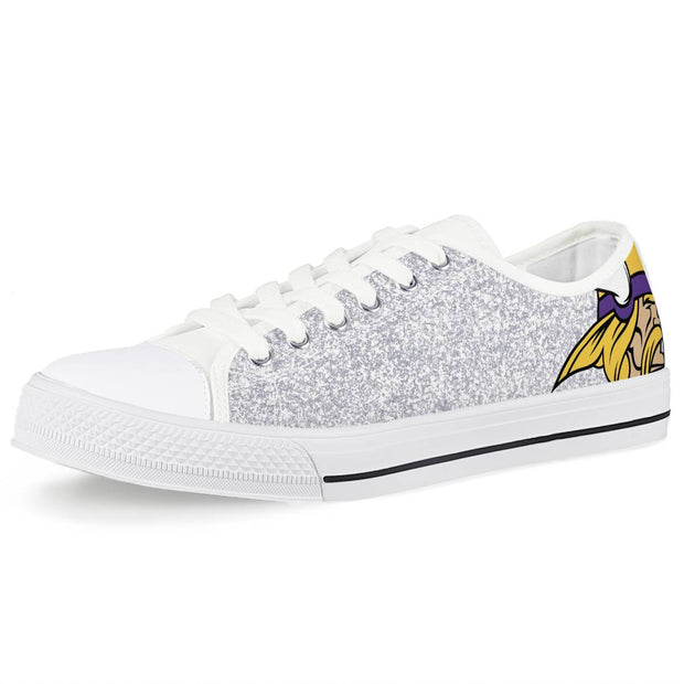 Minnesota Vikings Low Top Shoes - diNeiLa