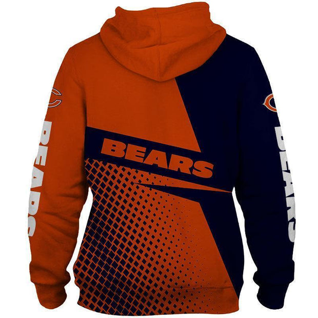 New Chicago Bears 3D Printed Hoodie - diNeiLa