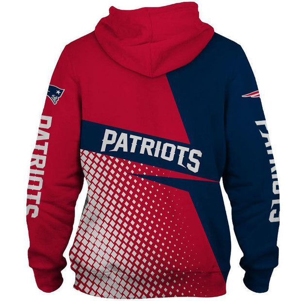 New England Patriots 3D Printed Hoodie - diNeiLa