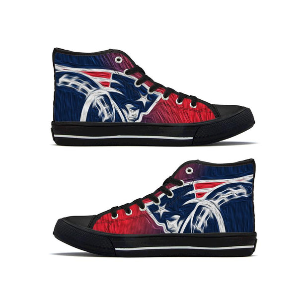 New England Patriots High Top Shoes - diNeiLa