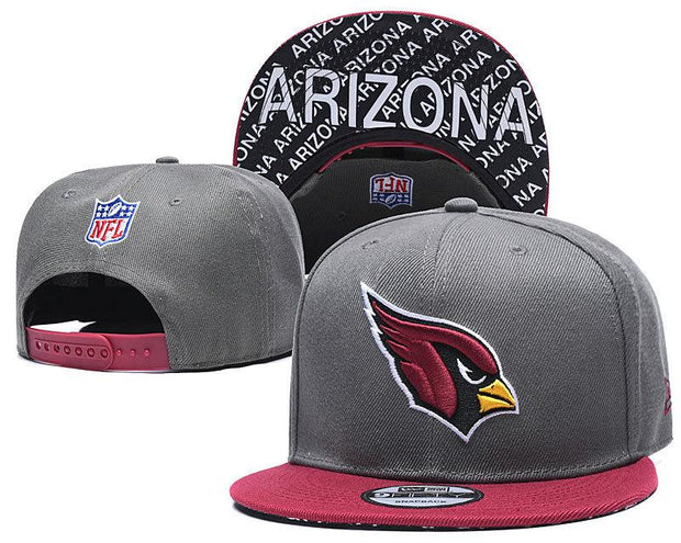New Era Arizona Cardinals 2019 NFL Sideline Road Official Fited Hat - diNeiLa