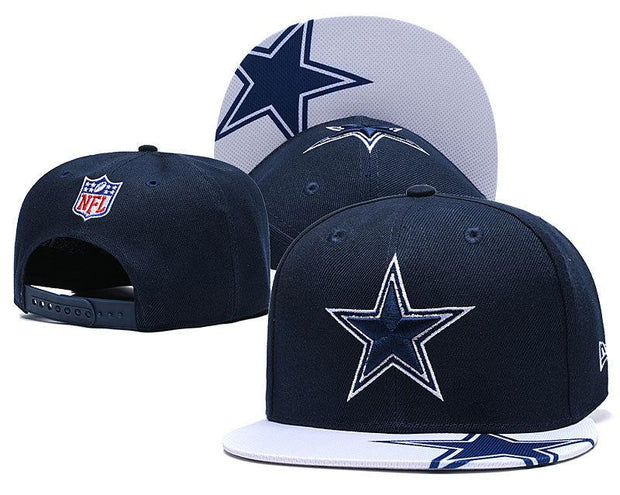 New Era Dallas Cowboys 2019 NFL Sideline Road Official Fited Hat - diNeiLa