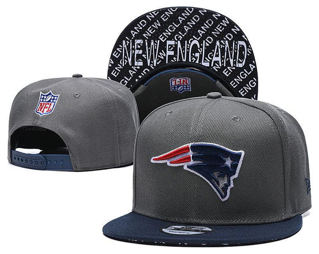 New Era New England Patriots 2019 NFL Sideline Road Official Fited Hat - diNeiLa