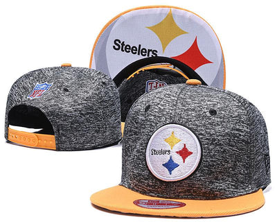 New Era Pittsburgh Steelers 2019 NFL Sideline Road Official Fited Hat - diNeiLa