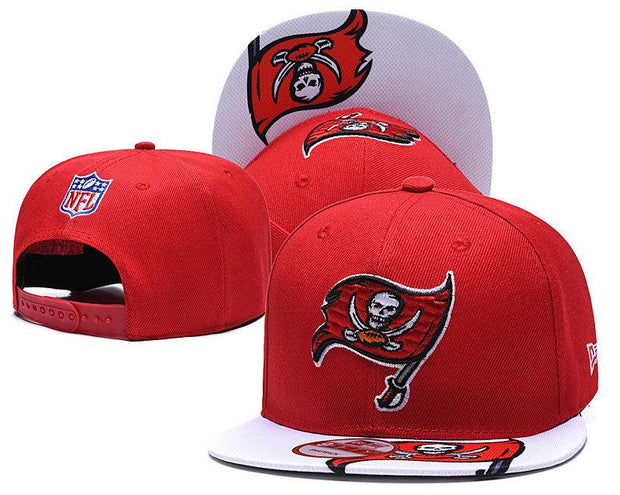 New Era Tampa Bay Buccaneers 2019 NFL Sideline Road Official Fited Hat - diNeiLa