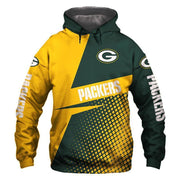 New Green Bay Packers 3D Printed Hoodie - diNeiLa