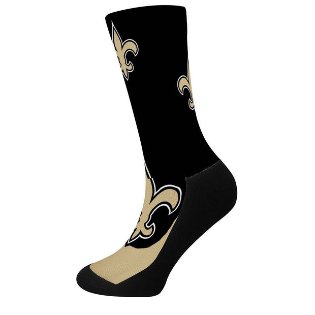 New Orleans Saints For Bare Feet Crew Socks - diNeiLa
