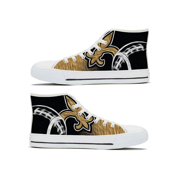 New Orleans Saints High Top Shoes - diNeiLa