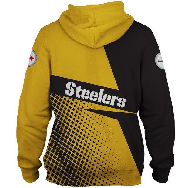 New Pittsburgh Steelers 3D Printed Hoodie - diNeiLa