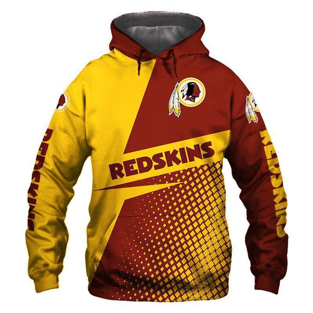 New Washington Redskins 3D Printed Hoodie - diNeiLa