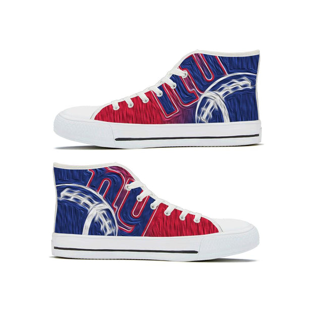 New York Giants High Top Shoes - diNeiLa