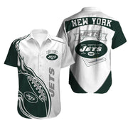 New York Jets Hawaiian Shirt Slim Fit Body - diNeiLa
