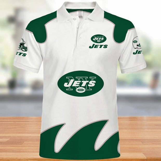 New York Jets Polo Shirt - diNeiLa