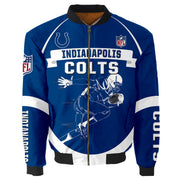 NFL Indianapolis Colts 3D Printed Full-Zip Sport Jacket - diNeiLa