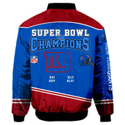 NFL New York Giants 3D Printed Full-Zip Sport Jacket - diNeiLa