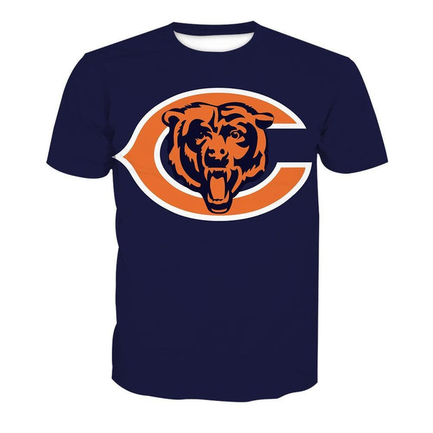 NFL Rugby Chicago Bears T-Shirt - diNeiLa