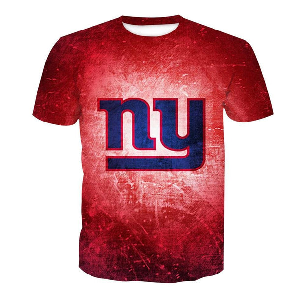 NFL Rugby New York Giants T-Shirt - diNeiLa