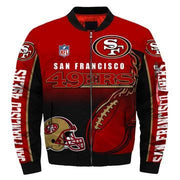 NFL San Francisco 49ers 3D Printed Full-Zip Sport Jacket - diNeiLa