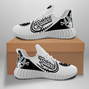 Oakland Raiders Sneakers Big Logo Yeezy Shoes - diNeiLa