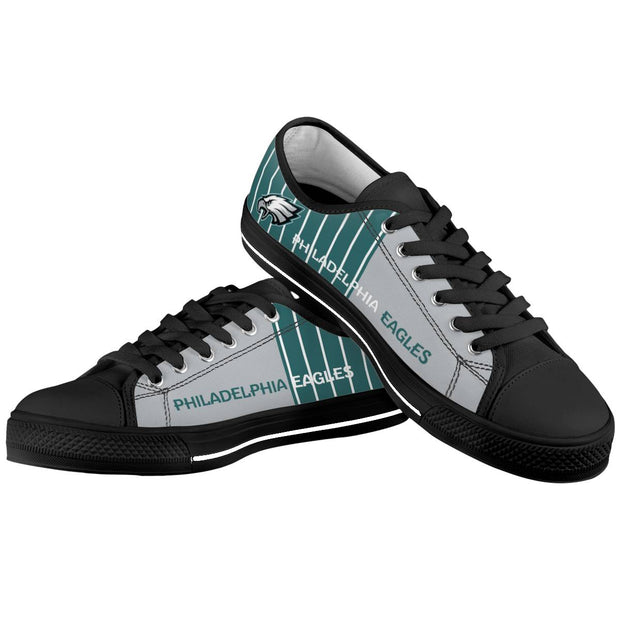 Philadelphia Eagles Low Top Shoes - diNeiLa